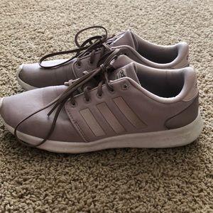 Lavender Adidas Cloud Foam Sneakers